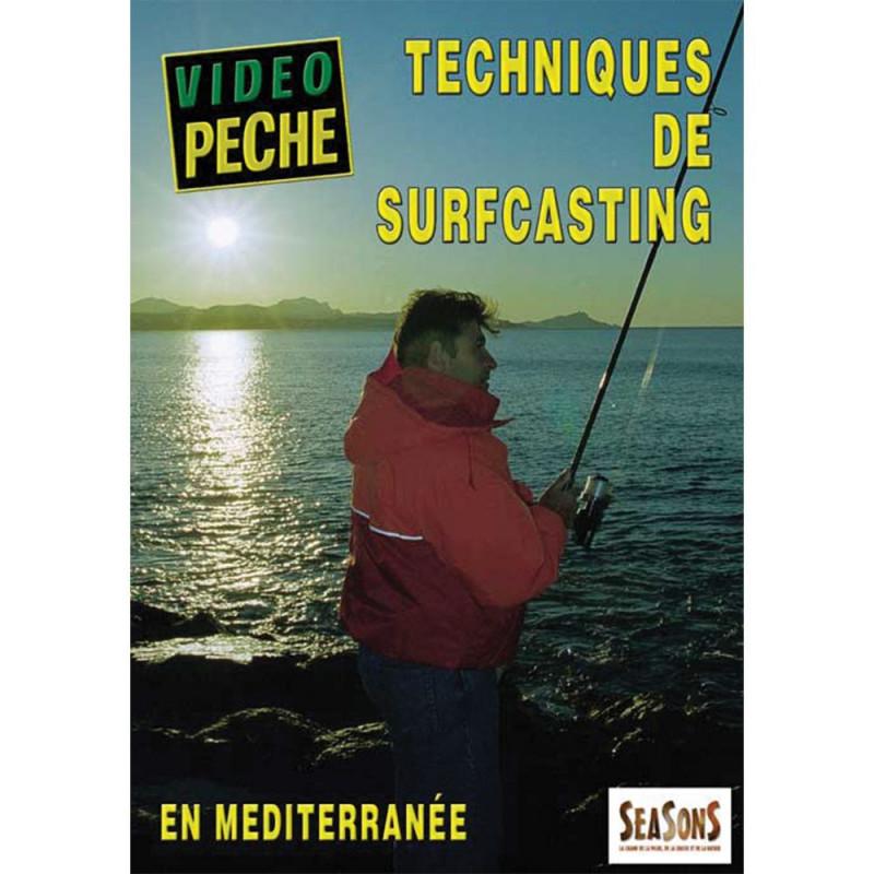 DVD : Techniques de surfcasting en méditerrann