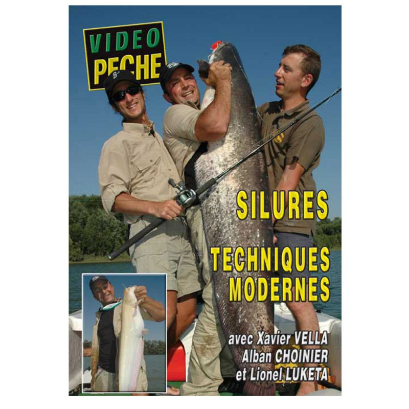 DVD : Silures : techniques modernes