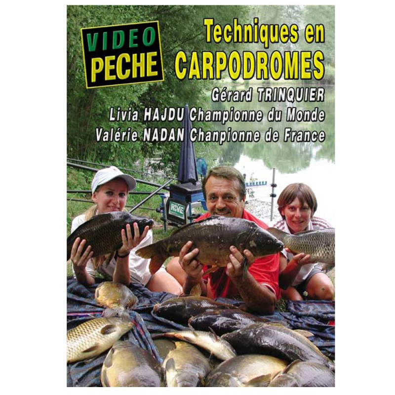 DVD : Techniques en carpodromes