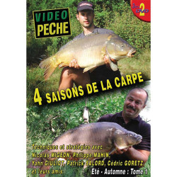 Lot de 2 DVD : 4 saisons de la carpe